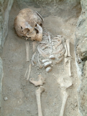 Bronze Age burial