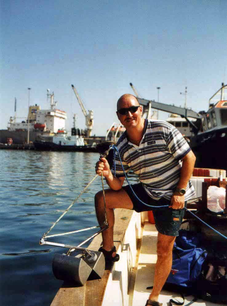 Marine sampling in Qatar